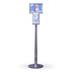 SET TouchFREE Chrom inkl. 3 Liter Desinfektionsmittel | DEB STOKO