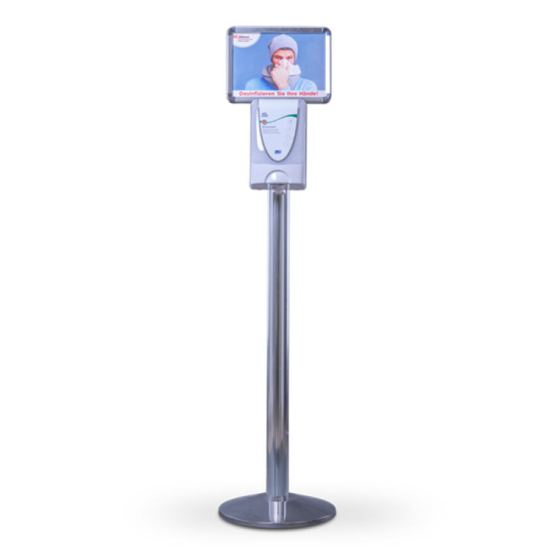 SET TouchFREE Chrom inkl. 3 Liter Desinfektionsmittel   DEB STOKO