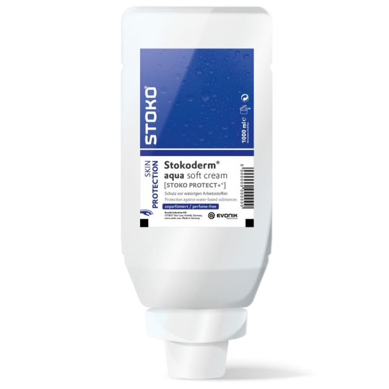 Stokoderm aqua sensitive | 1000 ml Softflasche